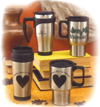 personalized stainless coffee mugs